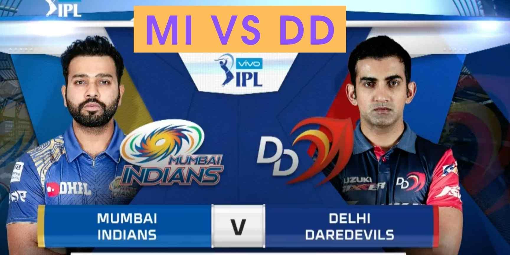 MI vs DD