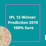 ipl 12 winner